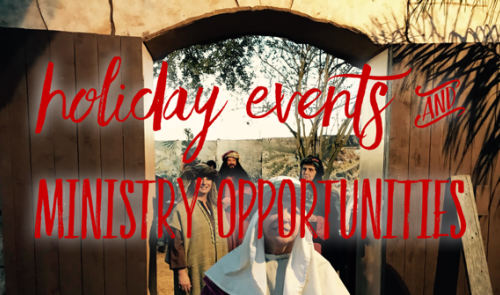 Special Holiday Events
