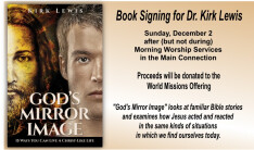 Book Signing for Dr. Kirk Lewis