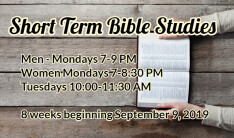 Fall Bible Studies